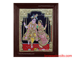 Tanjore Painting | Art Gallery- Rudra Art Gallery