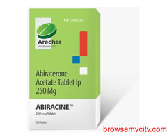 Abiraterone Acetate tablet price in India