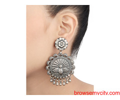 Buy Fashionable Oxidised Silver Jewellery for Women at Anjum Jewels
