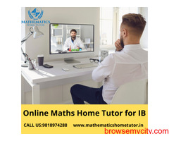 Online Maths Home Tutor for IB