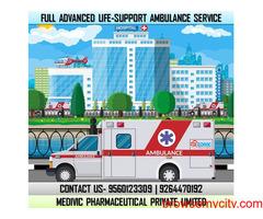 Select Topmost Medivic Ambulance Service in Hajipur, Patna