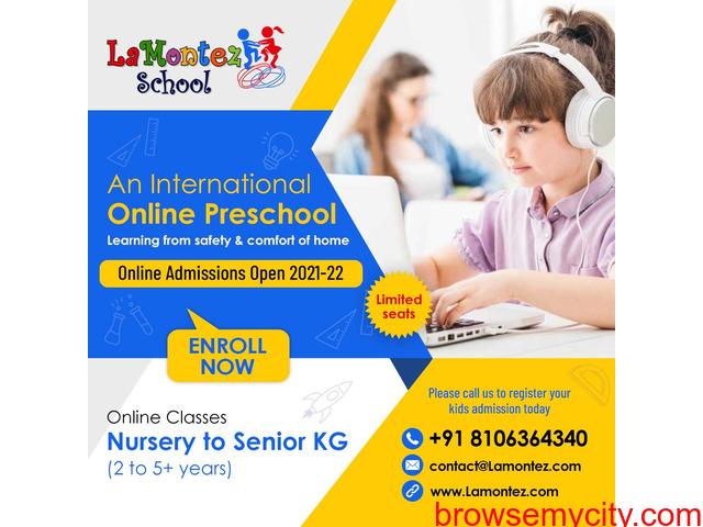 Preschool Online Learning - 1/3