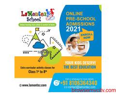 Preschool Online Learning