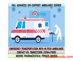 Utilize Unique Medivic Ambulance Service in Mahendru, Patna