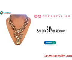 Everstylish Coupons, Deals & Offers: Save Up to 83% on Neckpieces