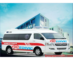 Take Reliable Ambulance Service in Koderma with ICU Setup by Medivic