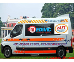 Pick Low-Fare Ambulance Service in Varanasi with ICU Setup by Medivic