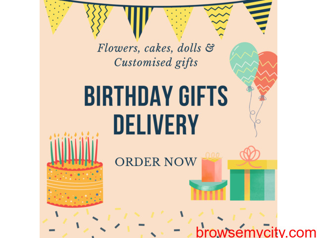Birthday Gifts Delivery to Mysore-Online Birthday Gifts - 1/1