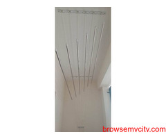Call 0830949571 for Ceiling Cloth Drying Hanger Near INDIS VB City, Bolarum, Kompally