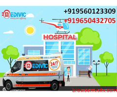 Get Medical Emergency Ambulance Service in Ranchi at Low-Cost by Medivic