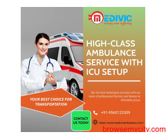 Hassle-Free Emergency Ambulance Service in Patna by Medivic