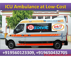 Top-Class Medical Facility Ambulance Service in Ring Road by Medivic