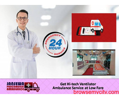 Take Fully Affordable Cardiac Ambulance from Saguna More with Unique ICU Facility
