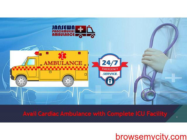 Hire Finest Emergency Supported Ambulance Service in Rajendra Nagar at Low Fare - 1/1