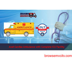 Hire Finest Emergency Supported Ambulance Service in Rajendra Nagar at Low Fare
