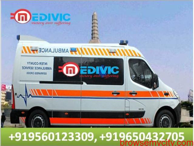 Pick Hi-Tech Ambulance Service in Bokaro with ICU Setup by Medivic - 1/1