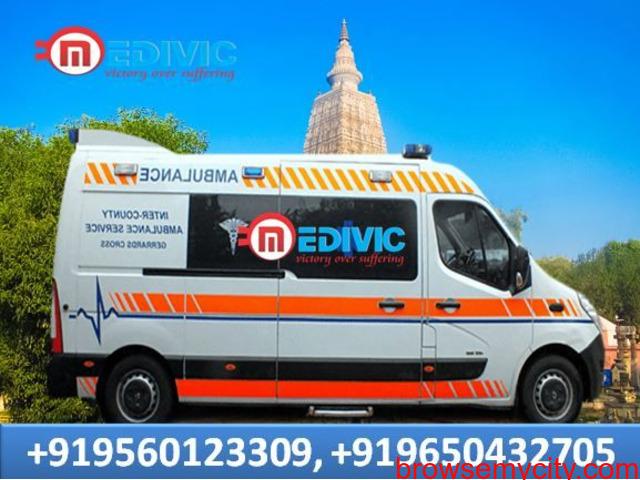 Take Medivic Ambulance Service in Koderma with Top-Level ICU Setup - 1/1