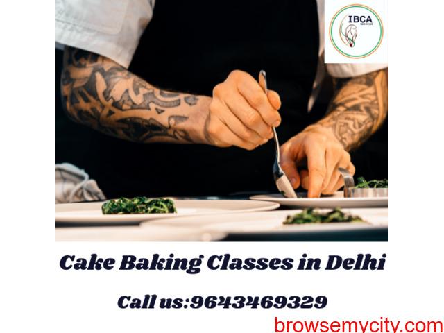 Cake Baking Classes in Delhi - 1/1