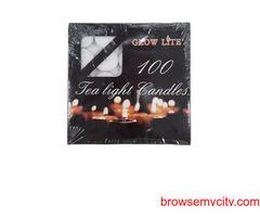 Tealight Candles Mumbai India-Aaryah Decor