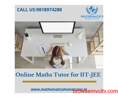Online Maths Tutor for IIT JEE