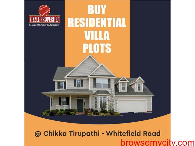 Land for sale near chikka tirupati Bangalore - 1/1