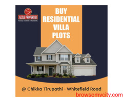 Land for sale near chikka tirupati Bangalore