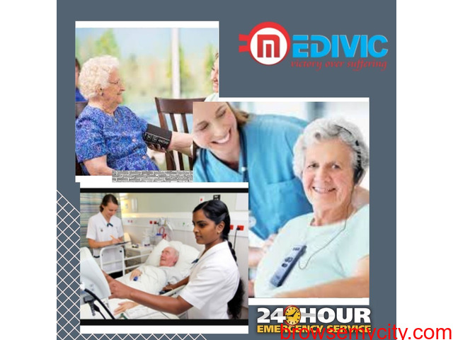 Select the Medivic Home Nursing Service in Boring Road, Patna for Care of Covid Patient - 1/1