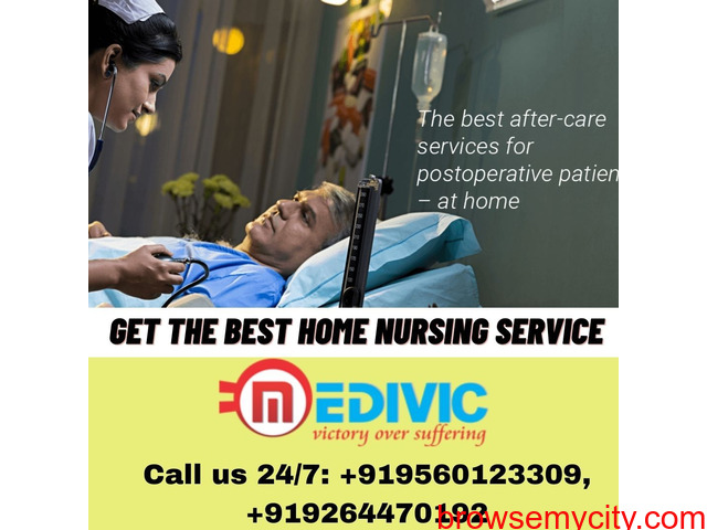 Pick Most Caring By Medivic Home Nursing Service in Sipara, Patna - 1/1