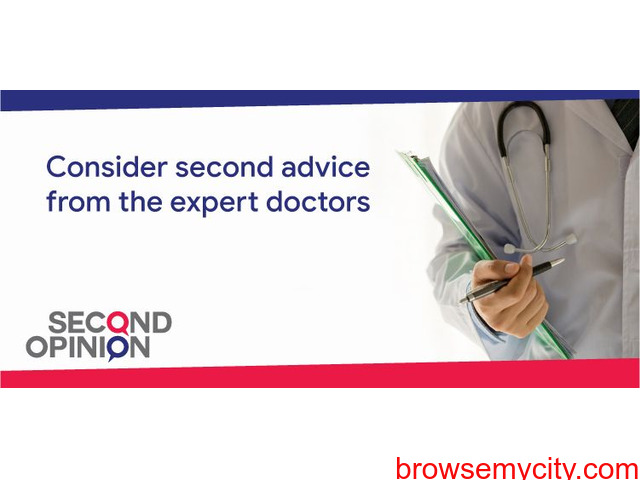 Consult best doctors instantly via Second Opinion App - 1/3