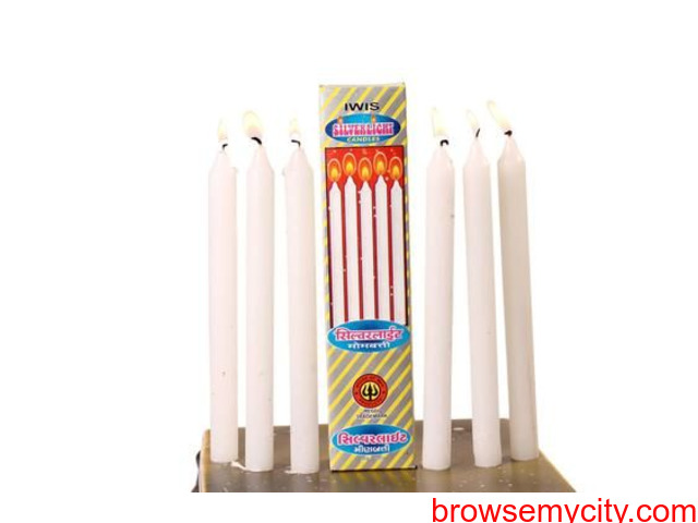 Candles-Teaklight Candles-Spital Candles-AARYAH DECOR - 2/6