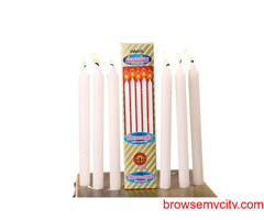 Candles-Teaklight Candles-Spital Candles-AARYAH DECOR