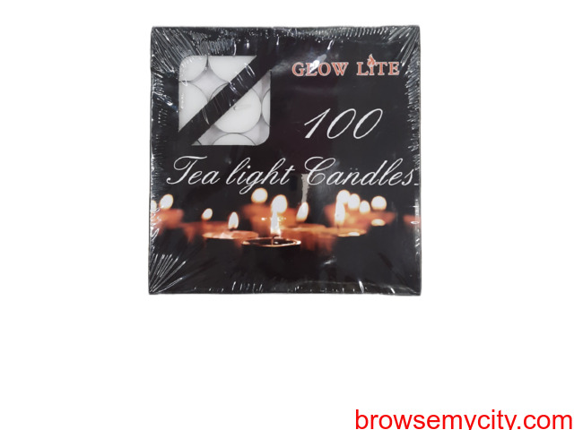 Candles-Teaklight Candles-Spital Candles-AARYAH DECOR - 6/6