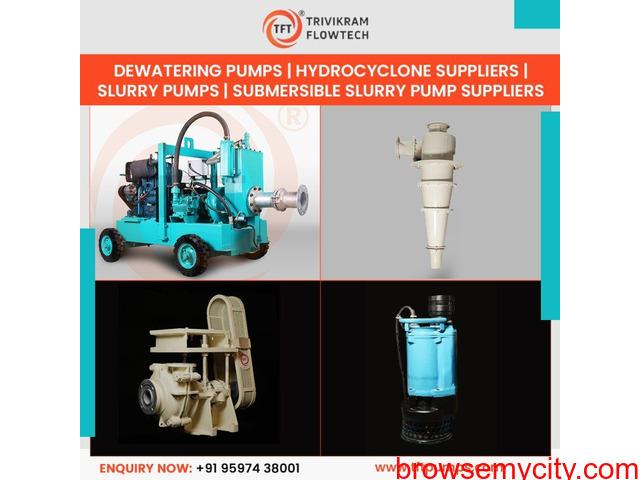 Slurry Pumps - Dewatering Pump Suppliers - TFT Pumps - 1/1