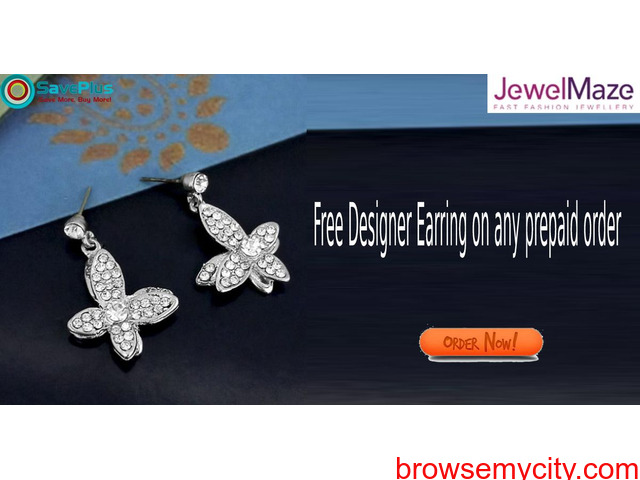 JewelMaze Coupons, Deals & Offers: Buy any 4 Necklaces for Rs.599 - 1/1