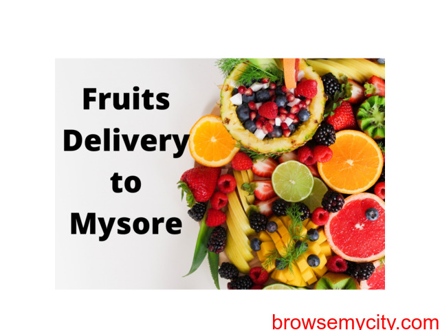Online Fruits delivery to Mysore - 1/1