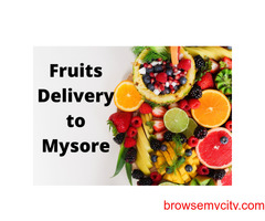 Online Fruits delivery to Mysore