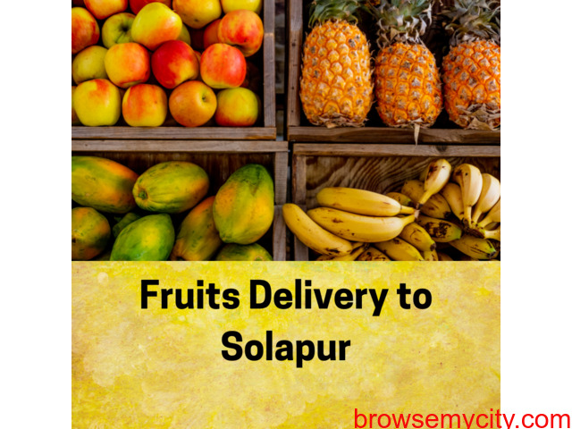 Online fruits delivery to Solapur - 1/1