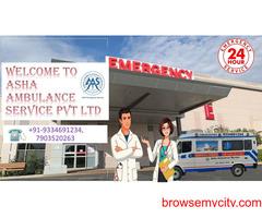 Book 24/7 hour on-call Road Ambulance Service  ASHA