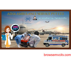 Get better Air Ambulance Service to transfer non-stop patient's  ASHA