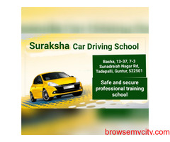 Suraksha Car Driving School Tadepalli
