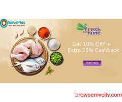 Get 10% OFF + Extra 15% Cashback on orders over Rs.449