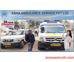 Hire a Road Ambulance Service with an experienced medical team  ASHA