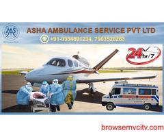 Confirm India's top Air Ambulance Service  ASHA
