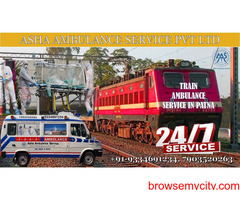 Best Medical Care and Treatment in Train Ambulance Service   ASHA