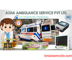 Call the best Road Ambulance Service for a patient at any time  ASHA