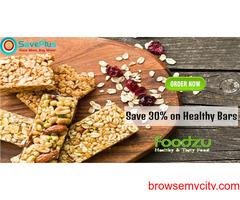 Save 30% on Healthy Bars