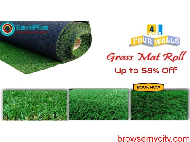Up to 58% Off Eucalyptus Grass Mat - 1/1