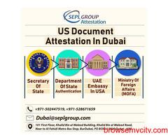 Documents Attestation for UAE