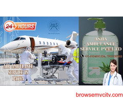 Confirm Air Ambulance Service with the best medical team for 24 hours  ASHA