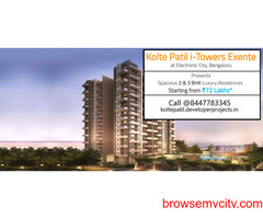 Kolte Patil i-Towers Exente Electronic City, Bengaluru   A Dwelling That Defines Luxury